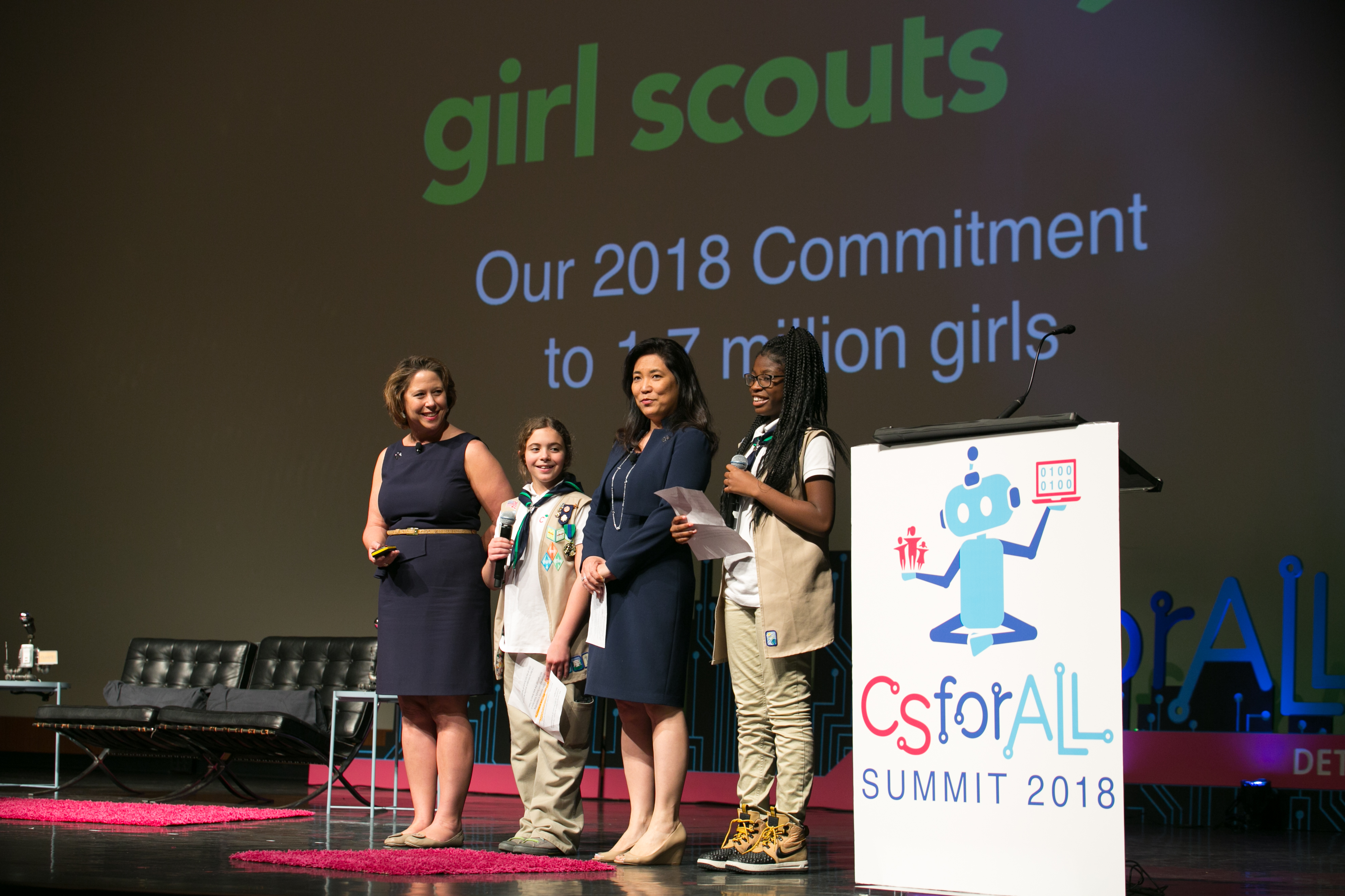 Girl Scouts Commitment
